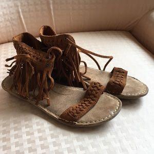 Minnetonka Suede Sandals